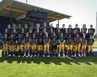 Burlington-Edison Tigers Boys Varsity Football Fall 18-19 team photo.