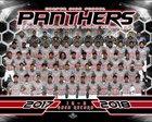 Carver Panthers Boys Varsity Football Fall 18-19 team photo.