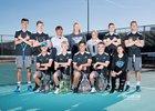 Cleveland Storm Boys Varsity Tennis Spring 18-19 team photo.
