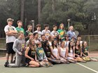Sonora Wildcats Boys Varsity Tennis Spring 18-19 team photo.