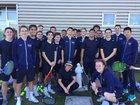 Central Catholic Raiders Boys Varsity Tennis Spring 18-19 team photo.
