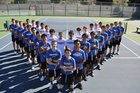 Rocklin Thunder Boys Varsity Tennis Spring 18-19 team photo.
