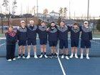 Woodland Wildcats Boys Varsity Tennis Spring 18-19 team photo.