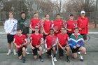 South Point Red Raiders Boys Varsity Tennis Spring 18-19 team photo.