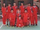 Valencia Jaguars Boys Varsity Tennis Spring 18-19 team photo.