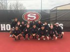 Salisbury Hornets Boys Varsity Tennis Spring 18-19 team photo.