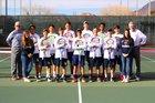 La Cueva Bears Boys Varsity Tennis Spring 18-19 team photo.
