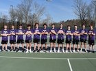 Stuart Cramer Storm Boys Varsity Tennis Spring 18-19 team photo.