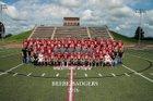 Beebe Badgers Boys Varsity Football Fall 16-17 team photo.