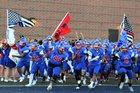 Fountain-Fort Carson Trojans Boys Varsity Football Fall 16-17 team photo.