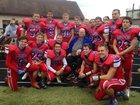 Linton-Stockton Miners Boys Varsity Football Fall 16-17 team photo.