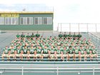 Athens Bulldogs Boys Varsity Football Fall 16-17 team photo.