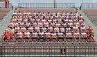 Steubenville Big Red Boys Varsity Football Fall 16-17 team photo.