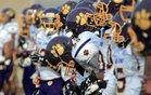Martin Luther King Cougars Boys Varsity Football Fall 16-17 team photo.