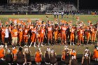 Heath Bulldogs Boys Varsity Football Fall 16-17 team photo.