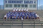 Hennessey Eagles Boys Varsity Football Fall 16-17 team photo.