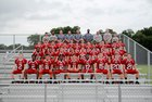 Santa Fe Catholic Hawks Boys Varsity Football Fall 16-17 team photo.