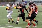 Hull-Daisetta Bobcats Boys Varsity Football Fall 16-17 team photo.