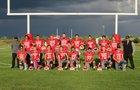 Logan Longhorns Boys Varsity Football Fall 16-17 team photo.