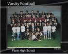 Florin Panthers Boys Varsity Football Fall 16-17 team photo.