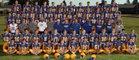 Ferndale Golden Eagles Boys Varsity Football Fall 16-17 team photo.