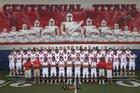 Centennial Titans Boys Varsity Football Fall 16-17 team photo.