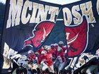 McIntosh County Academy Buccaneers Boys Varsity Football Fall 16-17 team photo.