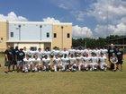 Bell Creek Academy Panthers Boys Varsity Football Fall 16-17 team photo.