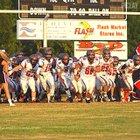 Fayette Academy Vikings Boys Varsity Football Fall 16-17 team photo.