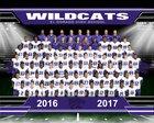 El Dorado Wildcats Boys Varsity Football Fall 16-17 team photo.