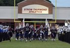 Strom Thurmond Rebels Boys Varsity Football Fall 16-17 team photo.