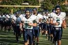Leesville Road Pride Boys Varsity Football Fall 16-17 team photo.