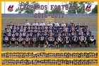 Hernando Leopards Boys Varsity Football Fall 16-17 team photo.