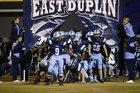 East Duplin Panthers Boys Varsity Football Fall 16-17 team photo.