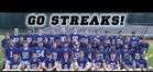 Warren Hills Regional Blue Streaks Boys Varsity Football Fall 16-17 team photo.