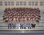 Pea Ridge Blackhawks Boys Varsity Football Fall 16-17 team photo.