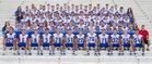 Las Cruces Bulldawgs Boys Varsity Football Fall 16-17 team photo.