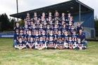 Pe Ell/Willapa Valley  Boys Varsity Football Fall 16-17 team photo.