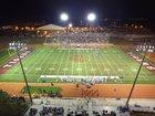 Dawson County Tigers Boys Varsity Football Fall 16-17 team photo.