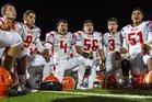 United Longhorns Boys Varsity Football Fall 16-17 team photo.