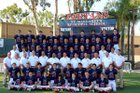 St. Margaret's Tartans Boys Varsity Football Fall 16-17 team photo.