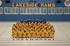 Lakeside Rams Boys Varsity Football Fall 16-17 team photo.