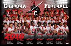 Cordova Lancers Boys Varsity Football Fall 16-17 team photo.