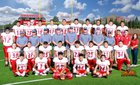 Van Horn Eagles Boys Varsity Football Fall 16-17 team photo.