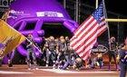 San Benito Greyhounds Boys Varsity Football Fall 16-17 team photo.