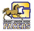 Grant Pacers Boys Varsity Football Fall 16-17 team photo.