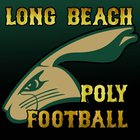 Long Beach Poly Jackrabbits Boys Varsity Football Fall 16-17 team photo.