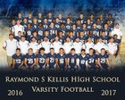 Kellis Cougars Boys Varsity Football Fall 16-17 team photo.