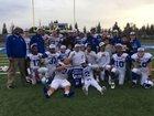 Brookside Christian Knights Boys Varsity Football Fall 16-17 team photo.