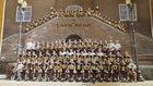Bend Lava Bears Boys Varsity Football Fall 16-17 team photo.